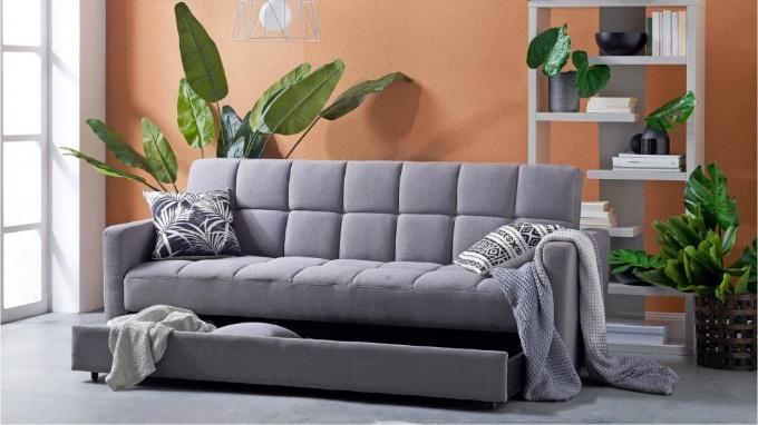 Avellino Fabric Sofa Bed