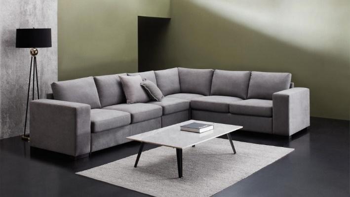 Kana Modular with Sofa Bed - Storm