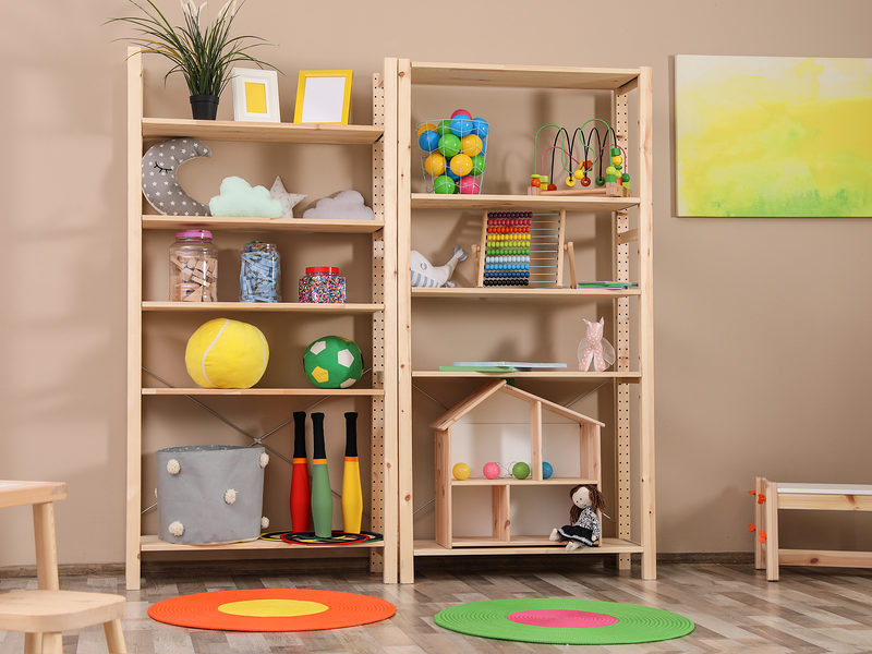 6 Toy Storage Solutions in your Apartment