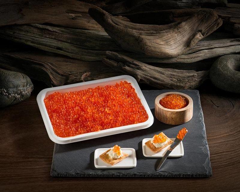 Homemade salmon caviar recipe (step by step)