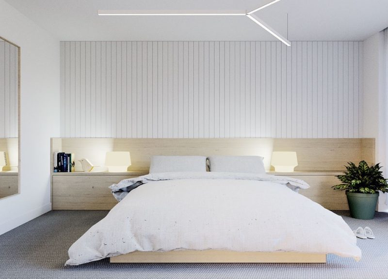 How to create a minimalist room that is pretty and practical