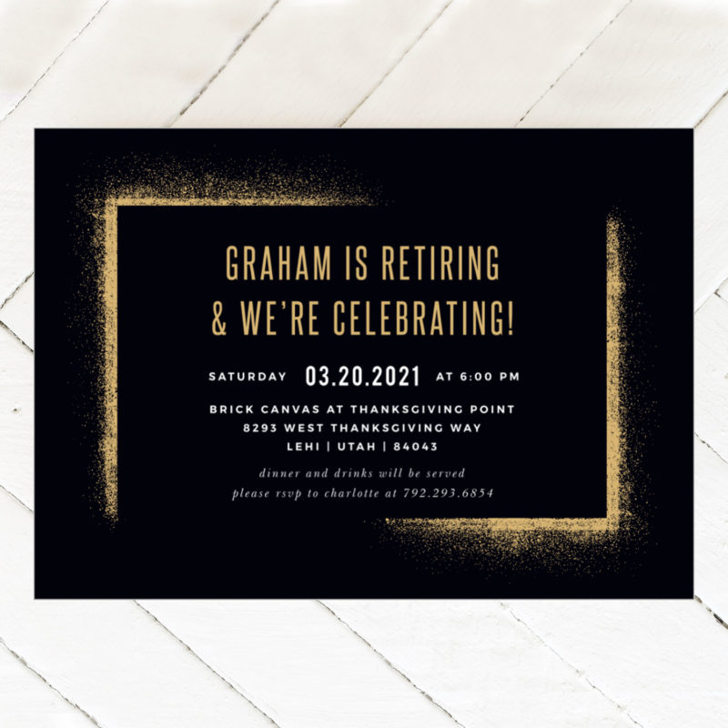 Our quick guide to the best surprise retirement party invitations