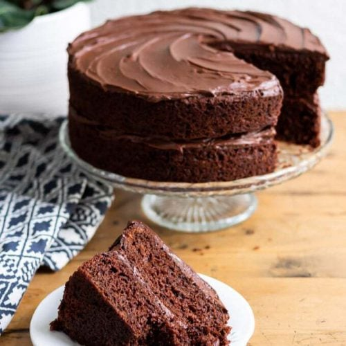 Special Chocolate Anniversary Cake Recipe