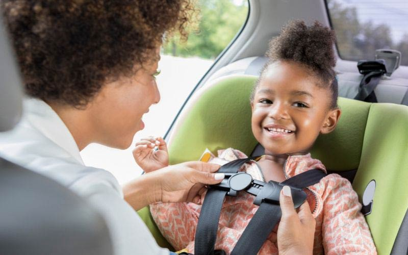 Keep your child safe in the family car with these simple tips