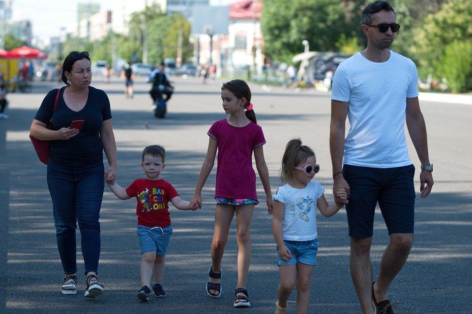 People, Family, Children, Mother, Little Girls