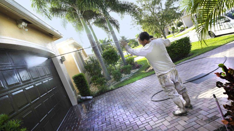 What Can You Power Wash Around The House?