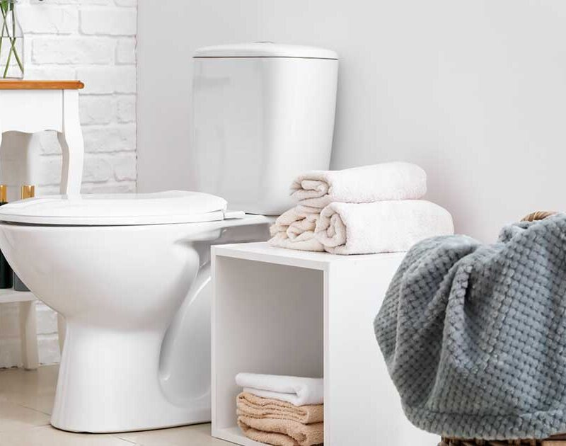 The bathroom cleaning process just got easier!