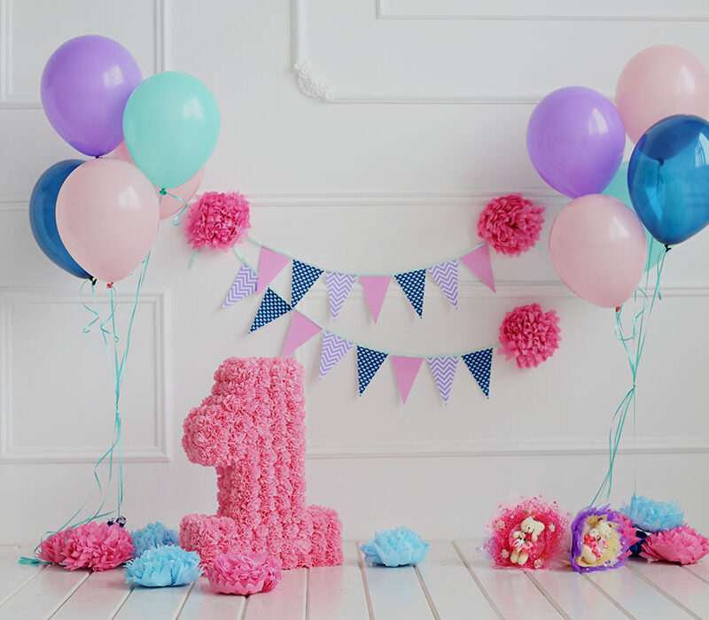 Simple ways to make your baby's first birthday extra special
