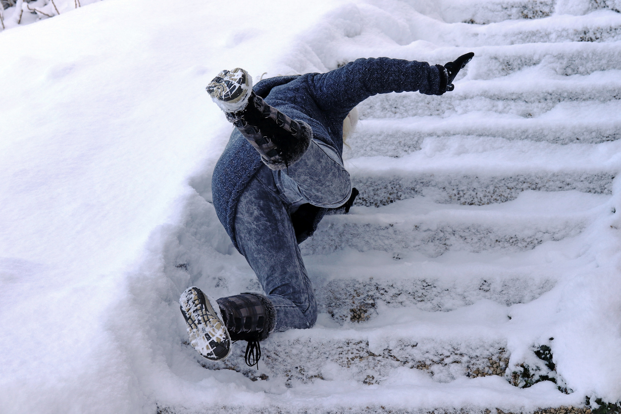 Slippery Sidewalks: Who Is Liable For Your Slip and Fall Accident?